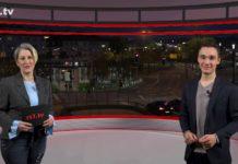 """Nicole Dahmen führt durch """"Die Woche"""", die Lokalnachrichten aus Remscheid präsentiert Daniel Pilz. Eine Kooperation von rs1.tv und Lüttringhauser. Screenshot: rs1.tv"""
