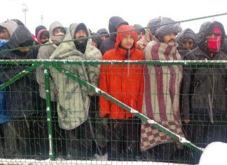 Flüchtlinge in Bosnien - Help leistet Nothilfe. Bild: obs/Help - Hilfe zur Selbsthilfe e.V./Copyright: Help/SOS Bihac