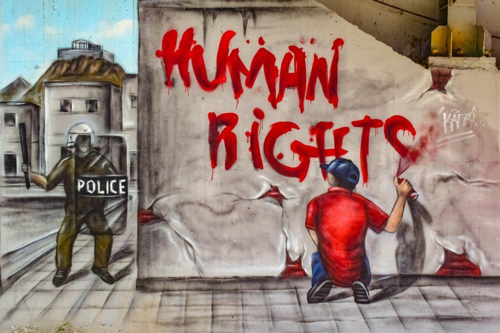 """Human Rights: Der 10. Dezember ist der """"Internationale Tag der Menschenrechte""""."""