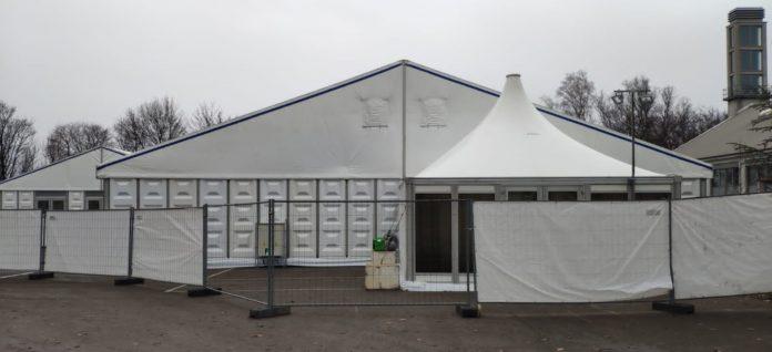 Corona: Das Wuppertaler Impfzentrum. Foto: Stadt Wuppertal
