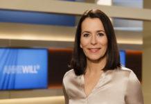 Moderatorin Anne Will führt durch den Sonntagstalk im Ersten. © NDR/Wolfgang Borrs