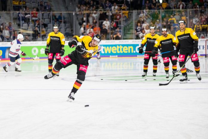 Eishockey: Deutschland gegen USA (2019). Foto: Sven Mandel / CC-BY-SA-4.0