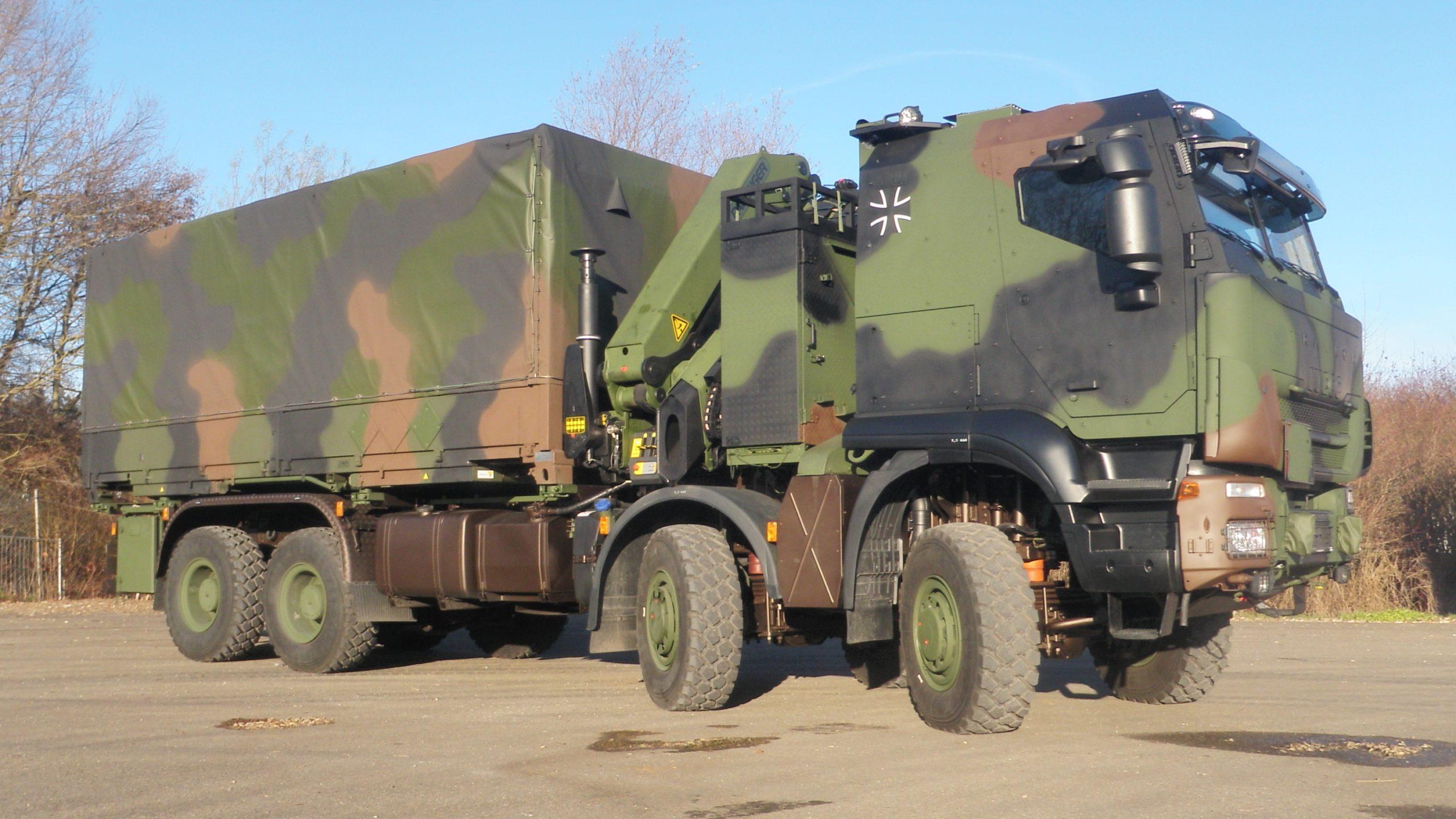 Bis zu 1.048 geschützte Transportfahrzeuge der Zuladungsklasse 15t kann die Bundeswehr in den nächsten sieben Jahren beschaffen. Quelle: obs/Presse- und Informationszentrum AIN - Foto: Bundeswehr
