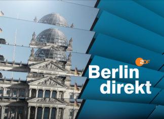 """Berlin Direkt""-Dokumentation ""Land im Fieber - Die Folgen der Corona-Krise"" am Sonntag, 3. Januar 2021. Quelle: obs/ZDF/Corporate Design"