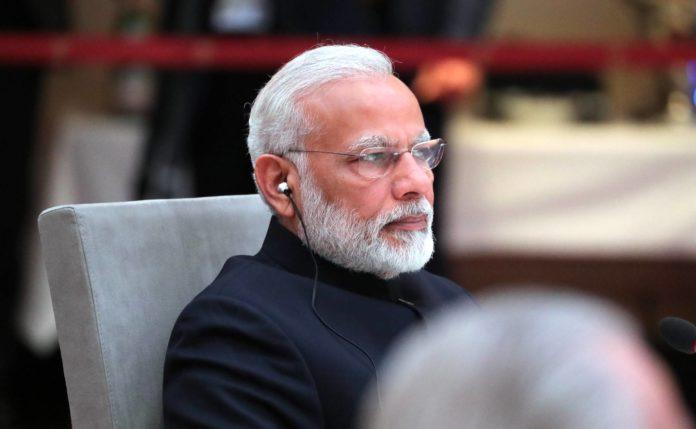 Indiens Premierminister Narendra Modi bei einem informellen Treffen der Staats- und Regierungschefs der BRICS-Staaten 2017 in Hamburg. Foto: Kremlin.ru, CC BY 4.0 , via Wikimedia Commons