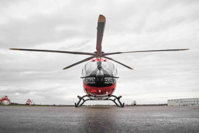 Das neue Rotorblatt-System erweitert die Möglichkeiten der Luftretter*innen. Foto: DRF Luftrettung