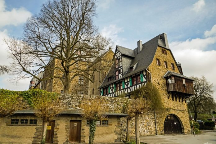 Schloss Burg in Solingen.