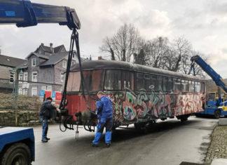 Die Restaurierung des alten Schienenbusses im Industriemuseum Ennepetal wird finanziell vom Land unterstützt. Foto: Industriemuseum Ennepetal