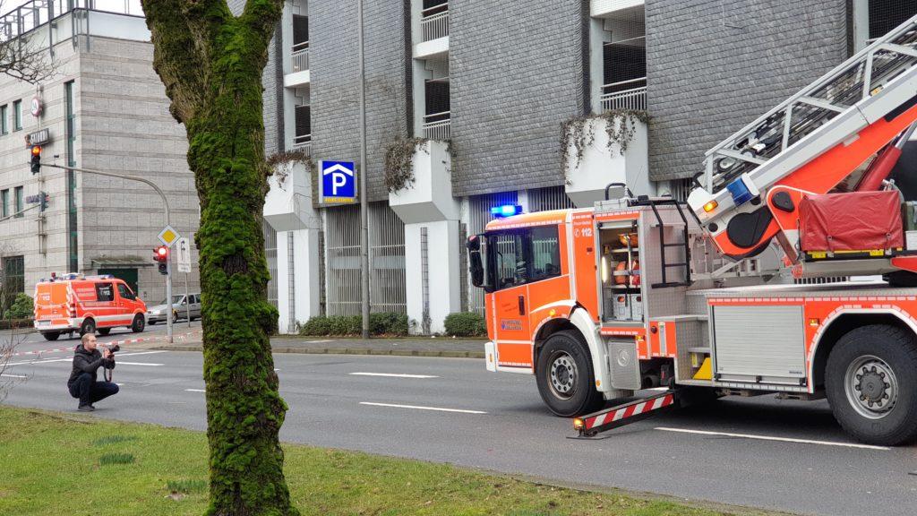 Kollegen bei der Arbeit: Tim Oelbermann im Einsatz. Foto: Sascha von Gerishem