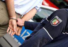 Festnahme. Symbolfoto Polizei.