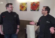 Kochen mit Kärst: Der Onlinekochkurs mit Markus Kärst und Arunava Chaudhuri. Screenshot: rs1.tv