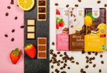 In der langen Reihe der fairen Bio-Schokoladen seitdem präsentiert die GEPA jetzt drei weiße Bio-Tafelschokoladen als Limited Edition: Lemon Crisp, Joghurt Erdbeer und Mocca Sahne. Foto: GEPA / C. Schreer