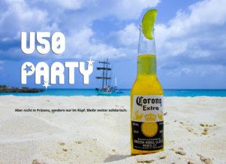 Corona: Der Inzidenzwert liegt unter 50, Grund zum Feiern, aber nur im Kopf, nicht in Präsenz. Bleibt weiter solidarisch.