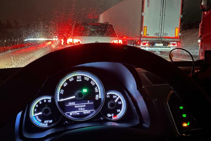 Auch extremen Frost steckt das E-Auto über mehrere Stunden mühelos weg. Foto: ADAC/Test und Technik