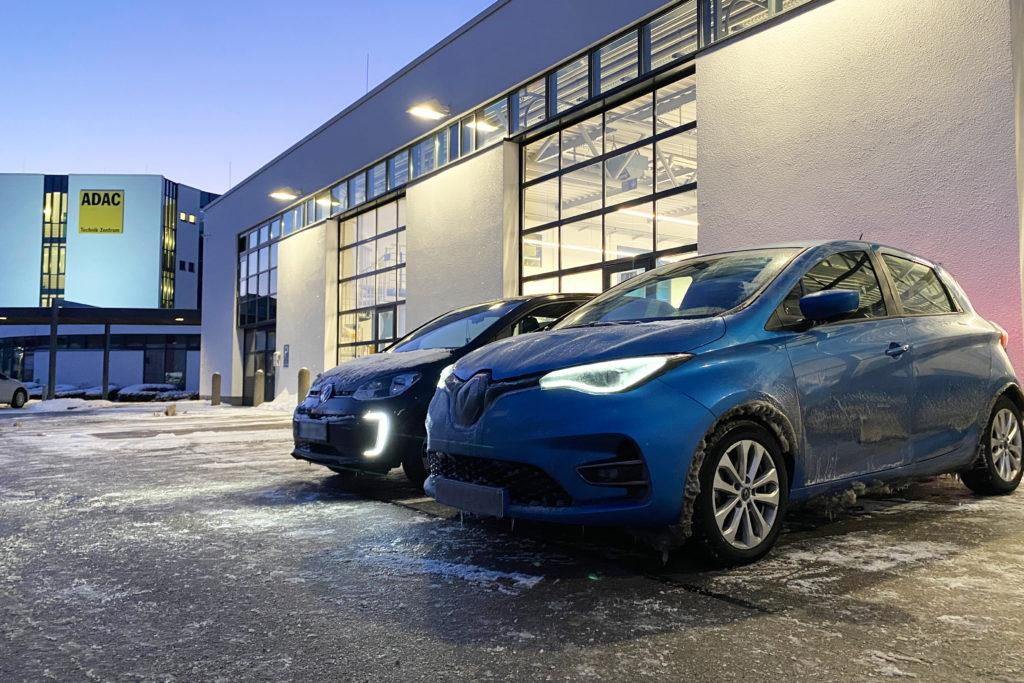 E-Auto im Frost-Härtetest: ADAC untersucht Batterieleistung bei Extrembedingungen. Foto: ADAC/Test und Technik