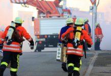 Die Feuerwehr im Einsatz. Symbolfoto: Jürgen Sieber