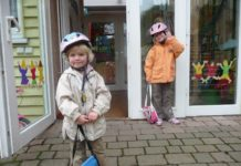 Morgens freuen sich Kinder über den Besuch im Kindergarten, mittags über die Abholung. Foto: Esther Merbt