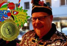 Lenneper Karnevalsgesellschaft verleiht Corona-Sonderorden. Collage: Sascha von Gerishem