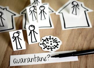 Quarantäne? Unbedingt einhalten. Durch die Einhaltung der Quarantäneverordnung NRW werden Menschenleben gerettet. Artwork: Congerdesign