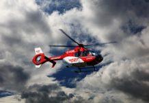 Rettungshubschrauber. Symbolfoto: Peter Gottschalk
