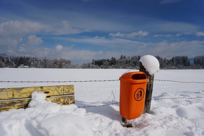 Bei Schnee lässt die Leerung manchmal auf sich warten.
