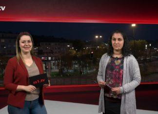 """Sabrina Ottersbach führt durch """"Die Woche"""", die Lokalnachrichten aus Remscheid präsentiert Sabine Yündem. Eine Kooperation von rs1.tv und Lüttringhauser. Screenshot: rs1.tv"""