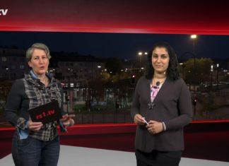 """Nicole Dahmen führt durch """"Die Woche"""", die Lokalnachrichten aus Remscheid präsentiert Sabine Yündem. Eine Kooperation von rs1.tv und Lüttringhauser. Screenshot: rs1.tv"""