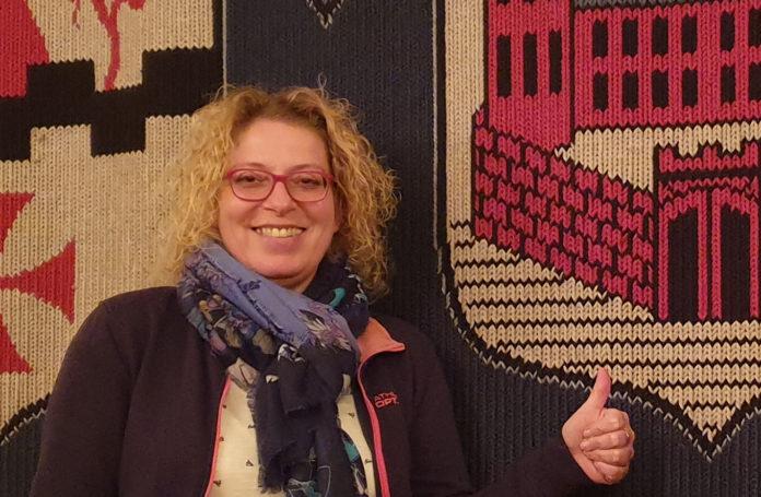Petra Kuhlendahl, Sprecherin der Grünen in der Bezirksvertretung Lennep. Foto: Sascha von Gerishem