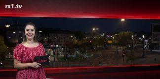 """Sabrina Ottersbach führt durch """"Die Woche"""", Lokalnachrichten aus Remscheid. Eine Kooperation von rs1.tv und Lüttringhauser. Screenshot: rs1.tv"""