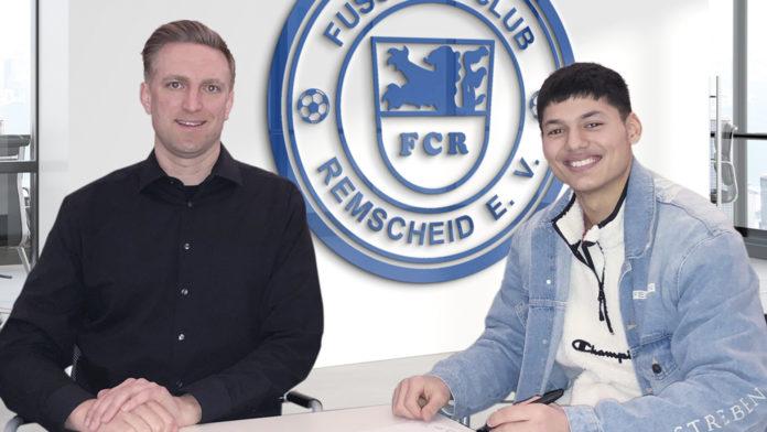 Kaderplanung des FC Remscheid: Marcel Heinemann und Haci Köseoglu. Foto: FC Remscheid