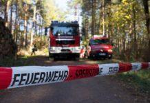Feuerwehr-Sperrzone. Symbolbild.