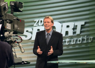 Moderator Wolf-Dieter Poschmann verstarb am 27. August 2021. © ZDF / Kerstin Bänsch