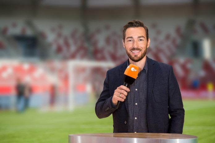 ZDF-Moderator Sven Voss. © ZDF/J. Haeselich, J-U. Koch,(m)D. Staudt