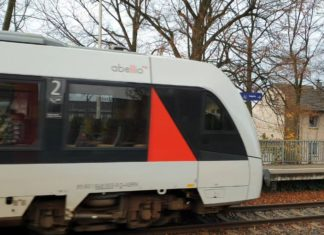 Abellio: Die S-Bahn ist bereits abgefahren. Foto: Sascha von Gerishem