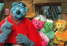 Käpt'n Blaubär mit seinen Enkeln, den drei Bärchen. © WDR/Fehlauer