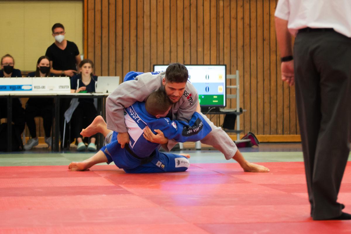 Neuzugang Johannes Frey gewann seine Kämpfe souverän. Foto: Jürgen Steinfeld
