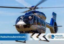 Die Hummel im Einsatz. © Polizei NRW