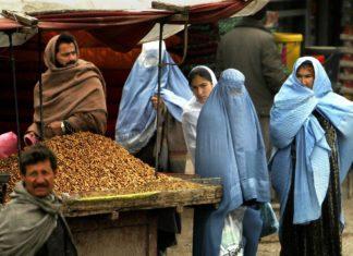 Ein Marktstand in Afghanistan. Foto: David Mark