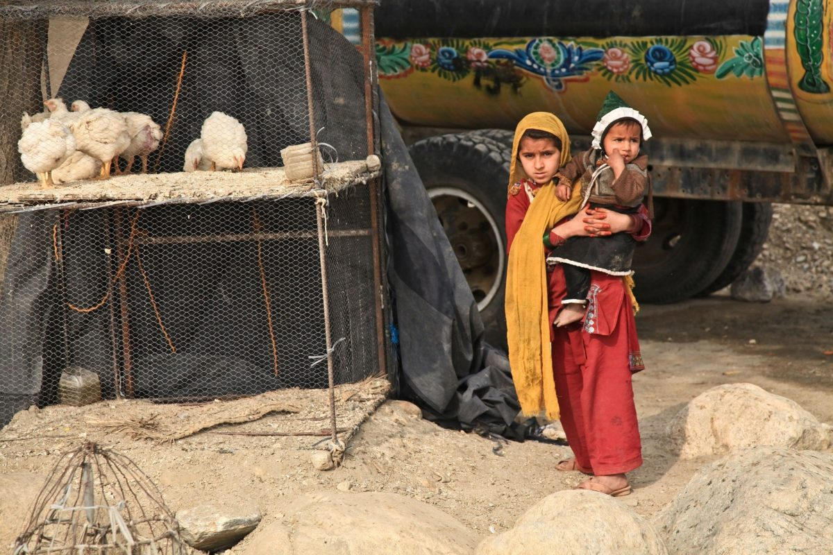 Schon vor der Rückkehr der Taliban war das afghanische Leben karg. Foto: Amber Clay