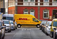Paketdienste gehören zum Stadtbild. Symbolfoto.